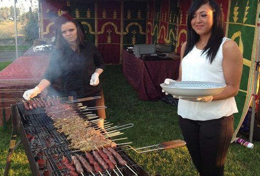 traiteur oriental barbecue orental  toporiental